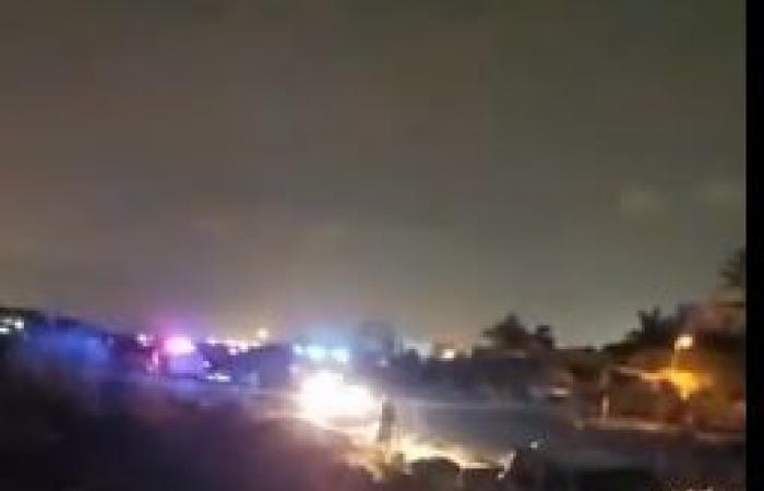 توافد عربات الإسعاف لنقل الناجين من حادث الغرق ببحيرة مريوط.. فيديو وصور