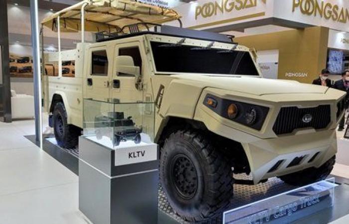كيا تطرح سيارات عسكرية في الإمارات.. صور
