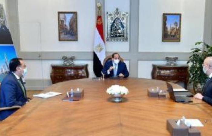 الرئيس السيسي يشدد على تكثيف جهود تطوير القاهرة التاريخية والإسراع فى إتمامها