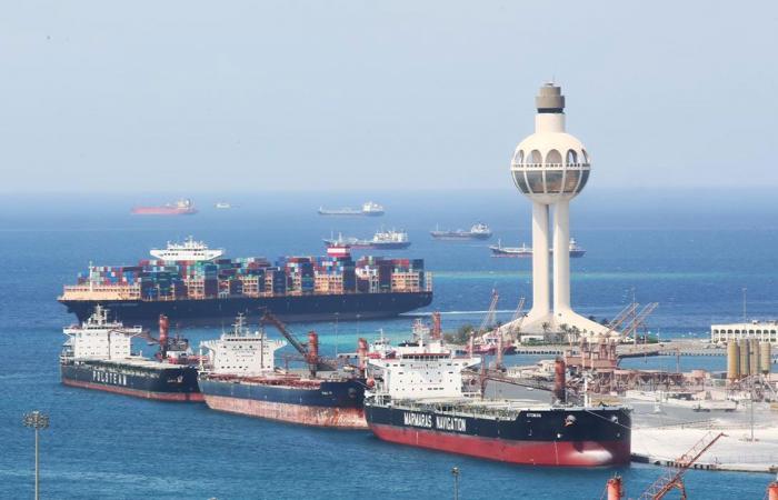 المملكة تقفز للمرتبة الخامسة كأسرع دول العالم في سرعة مناولة سفن الحاويات