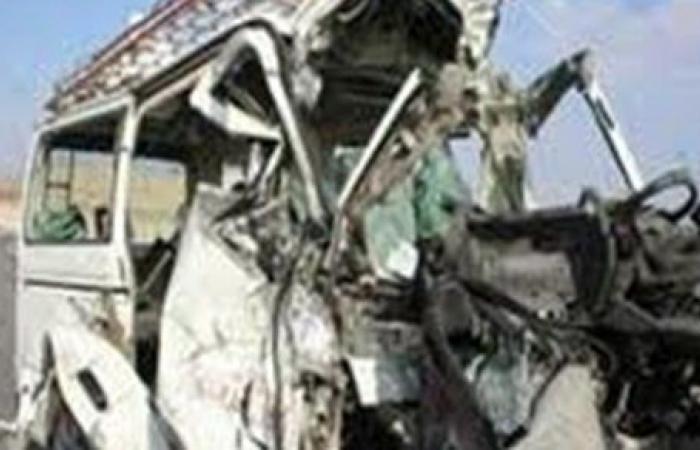 إصابة شخصين فى حادث سقوط سيارة ملاكى بالرياح التوفيقى ببنها