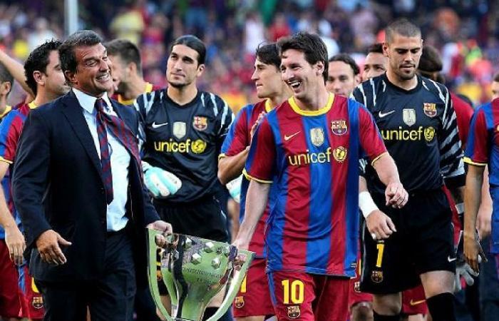 لابورتا يطلق تصريحًا صادمًا لميسي بشأن تجديد عقده مع برشلونة