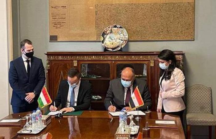 توقيع مذكرة تفاهم للتعاون الانمائي بين مصر والمجر