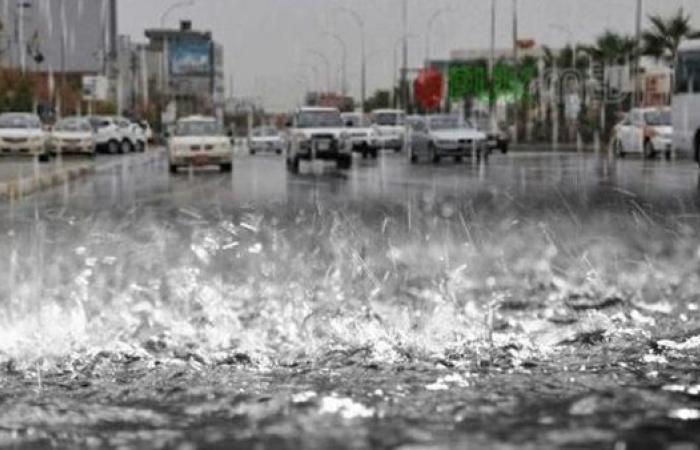 الأرصاد: استمرار هطول الأمطار على القاهرة حتى صباح الأربعاء