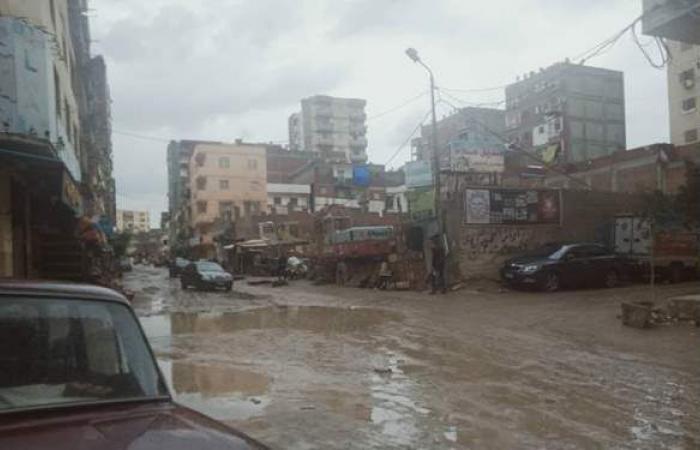 أمطار رعدية ورياح شديدة تضرب الإسكندرية | صور