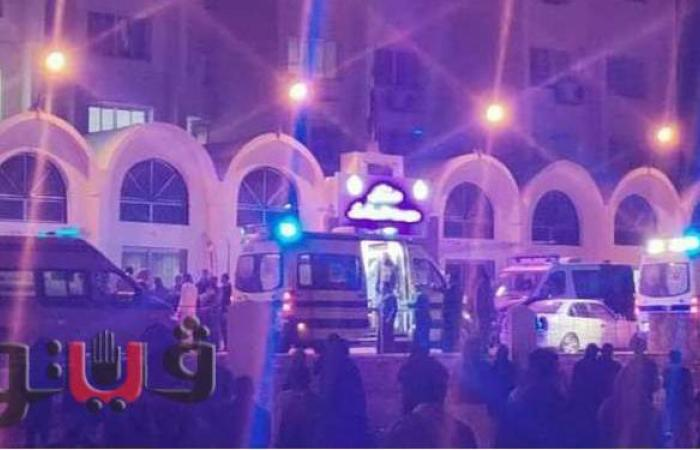 معظمهم أطفال وسيدات.. مصرع 6 أشخاص وإصابة 11 آخرين في حادث سيارة مروع بسيوة