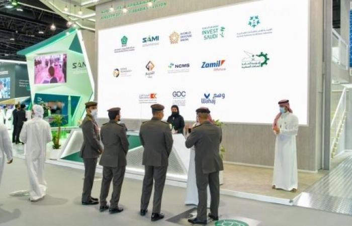 إقبال دولي على الجناح السعودي في معرض آيدكس 2021