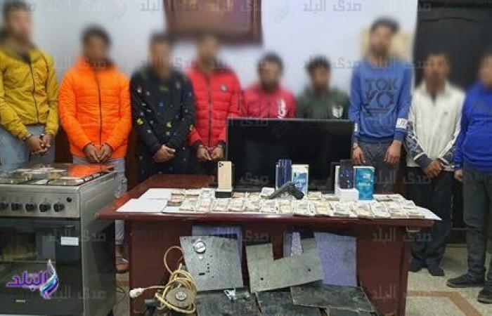 ٩ متهمين.. كشف ملابسات سرقة خزينة من داخل شركة بالإسكندرية