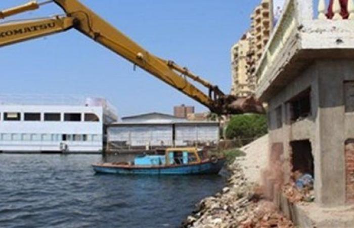 تستهدف 10 آلاف حالة.. الحكومة تبدأ الموجة الـ 17 لإزالة التعديات على نهر النيل