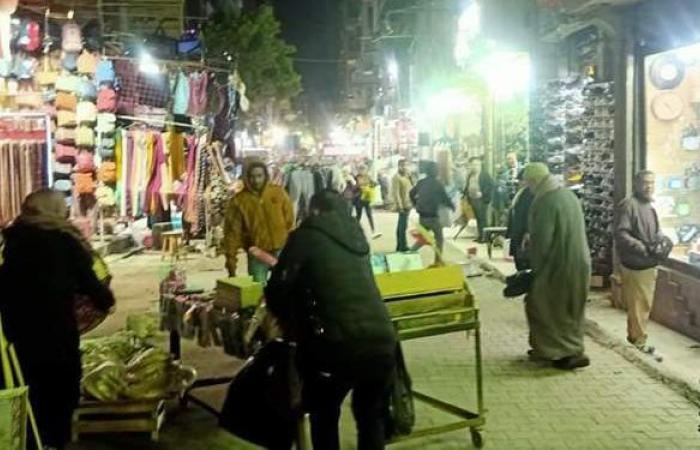 رفع 90 حالة إشغال بشوارع المحطة وربيع الجيزاوي وميدان الجيزة | صور
