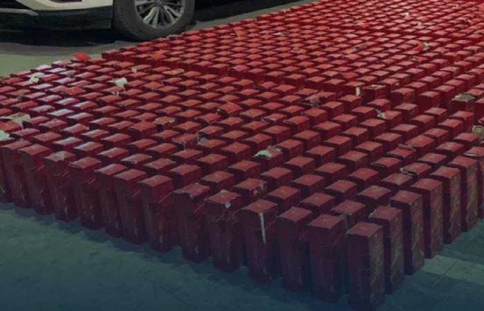إحباط تهريب 1370 زجاجة خمور بميناء الملك عبدالعزيز