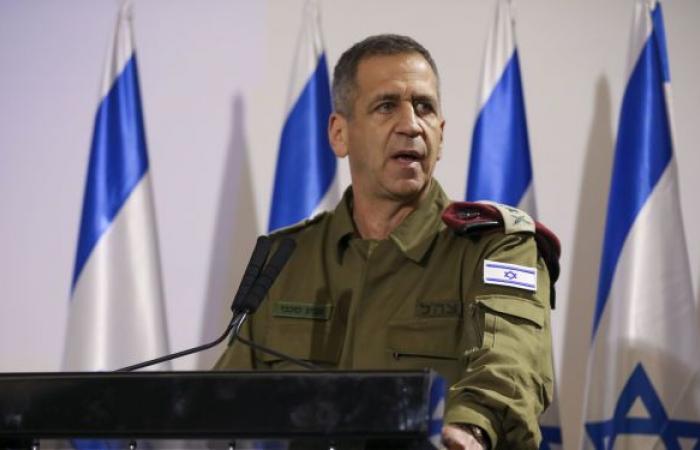 """رئيس الأركان الإسرائيلي يبعث برسالة عاجلة إلى جنوده بعد قرار """"الجنائية"""""""