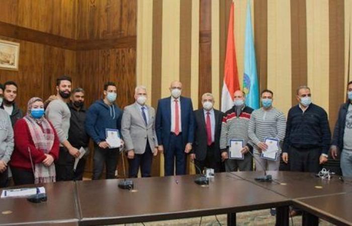 بالصور ... جامعة طنطا تكرم المتميزين في الأنشطة الطلابية