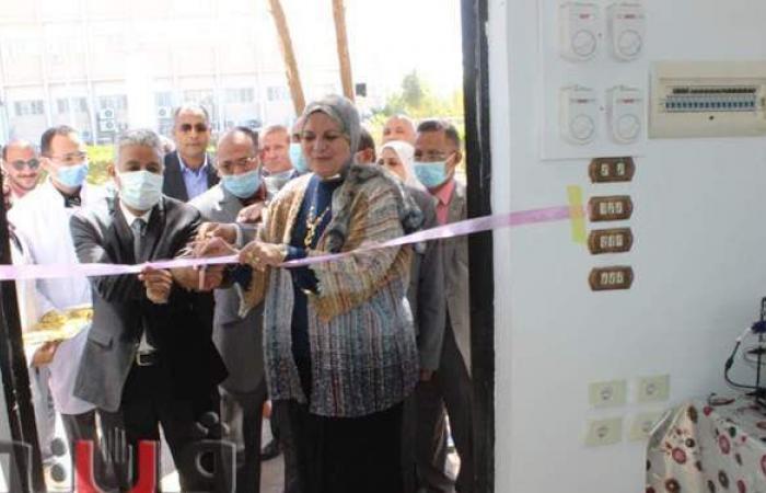 الغرباوي يفتتح صيدلية جديدة لخدمة مرضي مستشفي جامعة جنوب الوادي