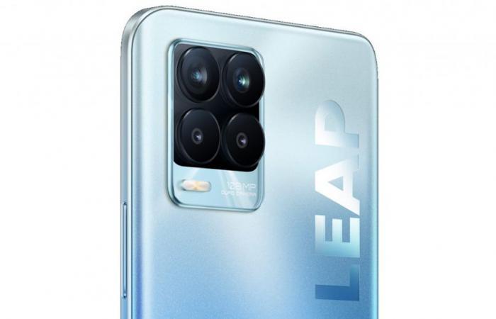 هاتف Realme 8 Pro ينطلق قريباً بمستشعر ISOCELL HM2 بدقة 108 ميجا بيكسل