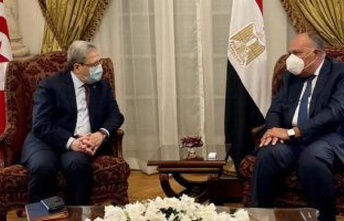 وزير خارجية تونس: أمننا القومى مرتبط بأمن مصر وعلينا تعزيز التعاون