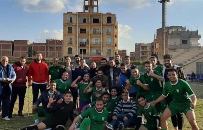 مركز شباب قويسنا يتأهل للترقي بخماسية في مرمى أبشيش