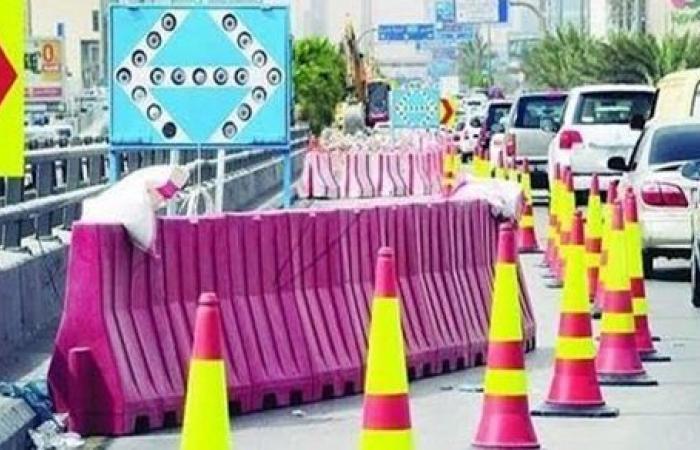 تحويلات مرورية لتنفيذ أعمال محطة مياه في مدينة نصر