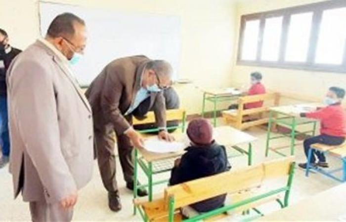 تعليم الوادي الجديد يستكمل امتحانات صفوف النقل والثانوى العام والتربية الخاصة