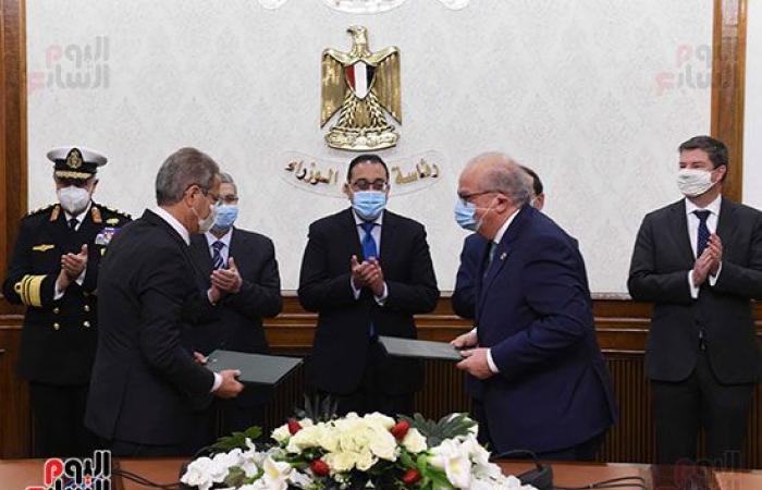 رئيس الوزراء يشهد توقيع اتفاقية لدراسة إنتاج الهيدروجين الأخضر لتوليد الطاقة