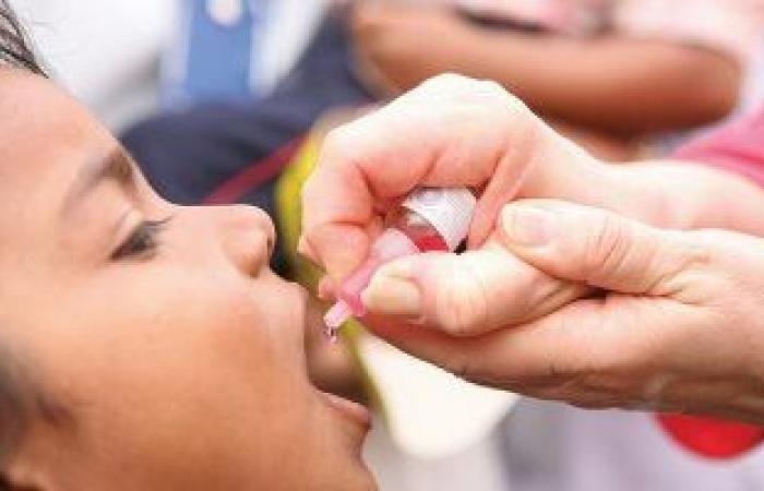 مد أعمال حملة التطعيم ضد شلل الأطفال حتى الجمعة المقبلة بقنا