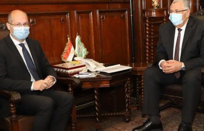 وزير الزراعة يبحث مع سفير المجر آفاق التعاون بين البلدين