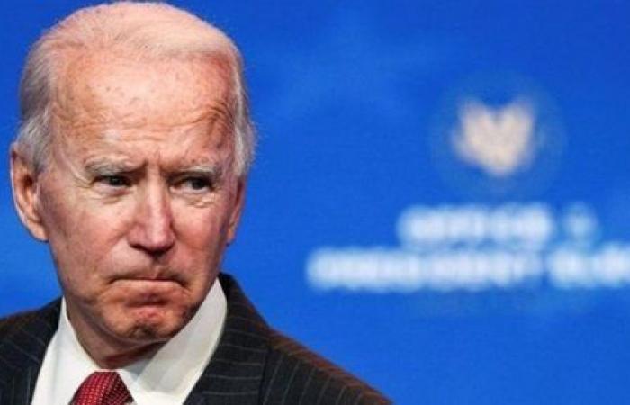 بسبب كلامه المثير للسخرية .. لحظة قطع البيت الأبيض البث على بايدن | فيديو
