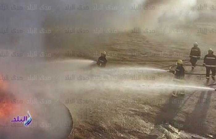 شاهد.. قدرات قوات الحماية المدنية فى إخماد الحرائق والتعامل مع المتفجرات