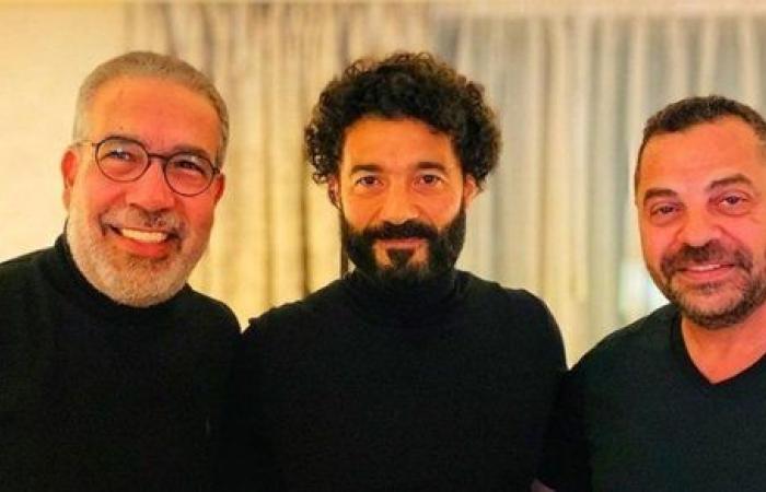 قعدة رايقة.. خالد النبوي مع طارق العريان ومدحت العدل