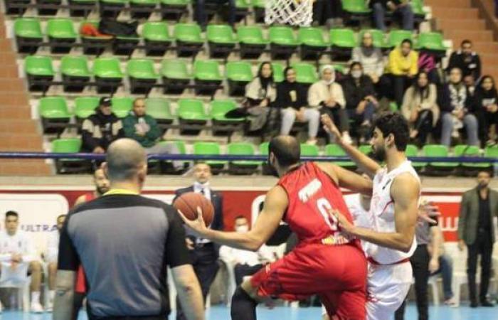 الأهلي يفوز على الزمالك في قمة دوري سوبر السلة