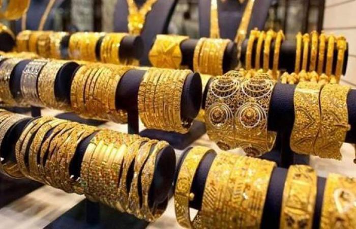 أسعار الذهب بمنتصف تعاملات الجمعة 5-3-2021 في مصر