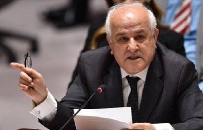 بشأن جرائم الاحتلال .. نداء فلسطيني عاجل لـ الأمم المتحدة