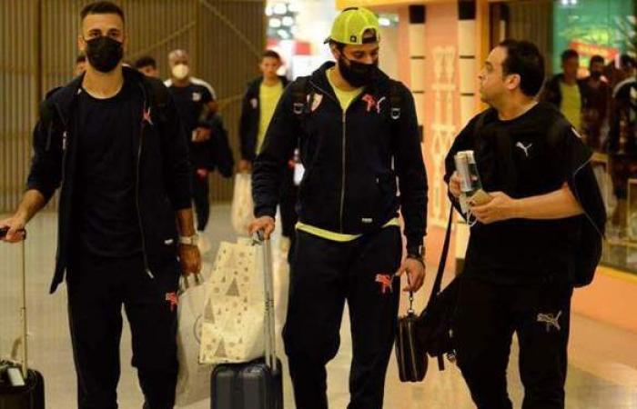 بعثة الزمالك تصل إلى مطار القاهرة قادمة من تونس