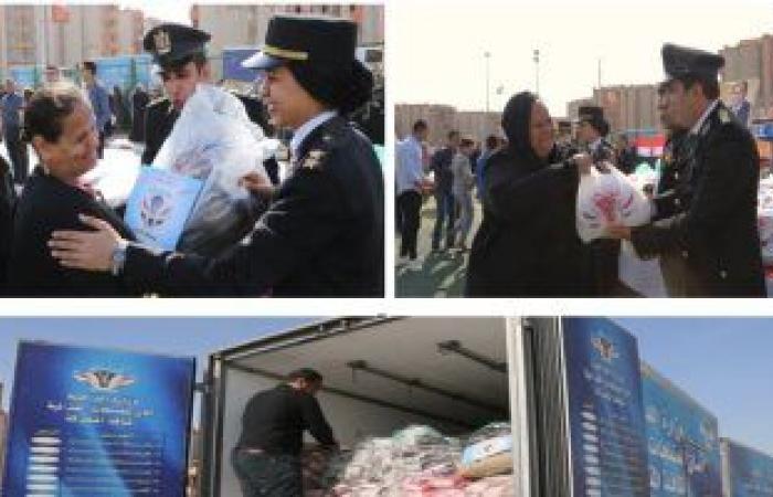 الداخلية توجه قوافل الرعاية الإنسانية والاجتماعية إلى حي الأسمرات في القاهرة