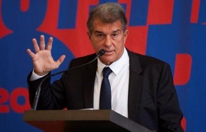 أول قرار من خوان لابورتا بعد فوزه بانتخابات رئاسة برشلونة