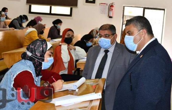 رئيس جامعة قناة السويس: تصحيح أكثر من ٤٥ ألف ورقة امتحانية