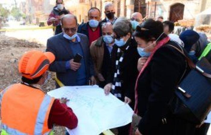 رئيس مياه الأسكندرية يتفقد مشروعات تحسين الخدمة بالمحافظة