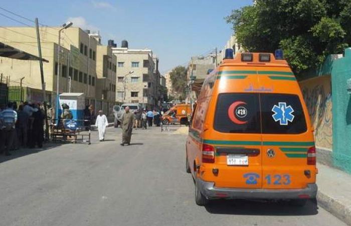 إصابة 4 مواطنين في حادث تصادم بقنا