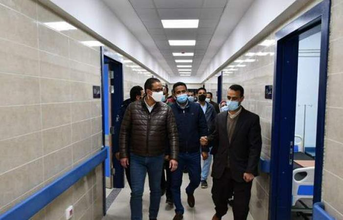 افتتاح مستشفى الصدر بالفيوم بعد تطويره