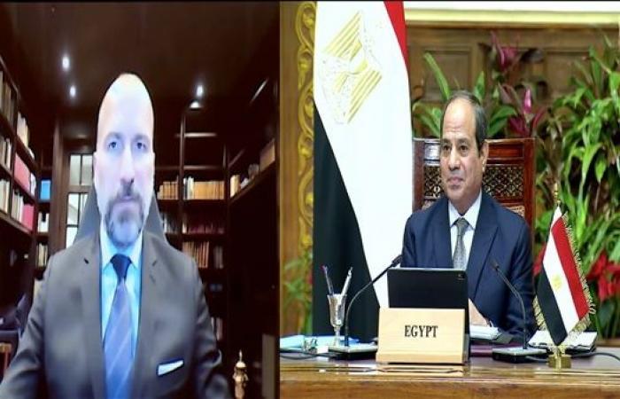 """الرئيس""""السيسي"""" يلتقي الرئيس التنفيذي لشركة أوبر العالمية ..ويؤكد: سنواصل الاستثمار في مصر"""