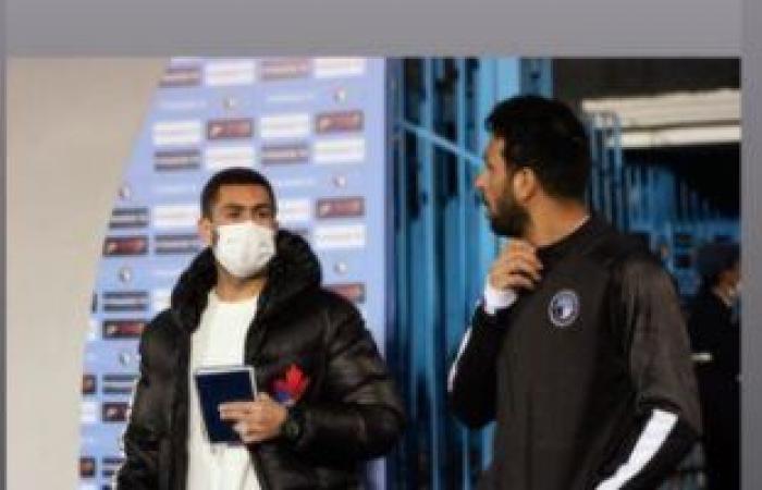 بعد ساعات من أزمته مع بيراميدز.. أحمد فتحى ينشر صورته مع المهدي سليمان