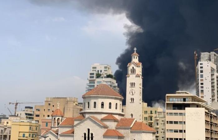 رسالة من الشيف بوراك إلى بيروت من موقع انفجار المرفأ