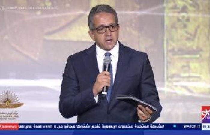 وزير الآثار: لا صوت يعلو فوق صوت موكب المومياوات الملكية