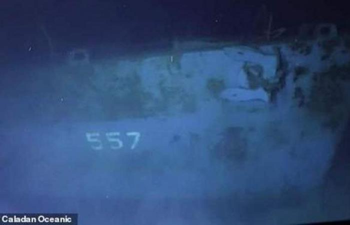 """بعد 75 عاما من الغرق.. الوصول إلى حطام """"قاتلة"""" اليابانيين"""