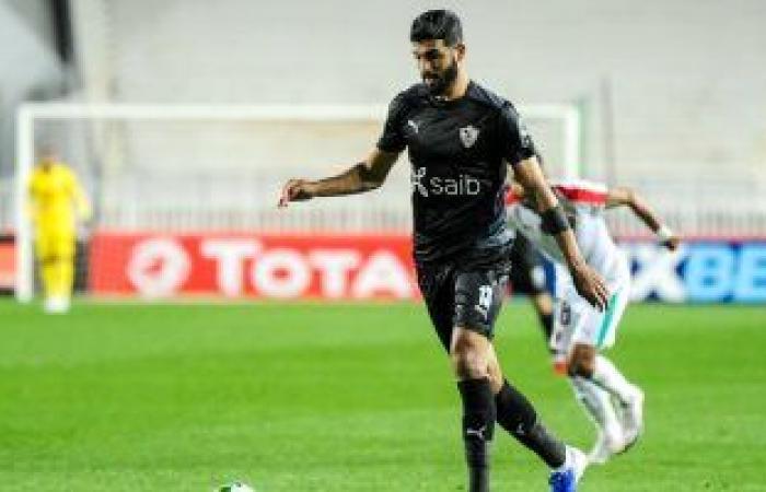فرجاني ساسي رجل مباراة الزمالك والمولودية الجزائري في دوري أبطال أفريقيا