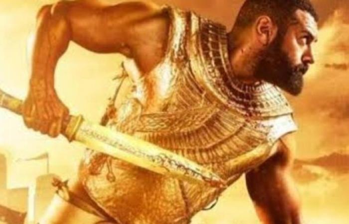 """أبرزها دقنه.. 5 أسباب حقيقية تسببت في وقف مسلسل """"الملك أحمس"""" لعمرو يوسف"""