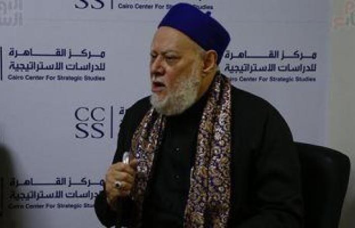 الدكتور على جمعة يقترح بالعمل على كتاب يضم فقه الإمام الليث بن سعد.. صور
