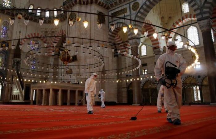 الشؤون الدينية التركية: لا تراويح في المساجد هذا العام