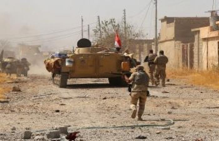 مقتل 60 إرهابيا من داعش فى قصف جوى بسلسلة تلال حمرين بالعراق