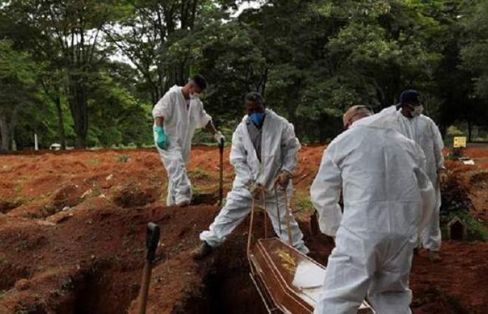 لا يتوقعه أحد.. البرازيل تسجل رقما كارثيا في عدد الوفيات اليومية بكورونا